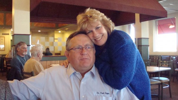 Dr. Fred Dopps and wife Nancy